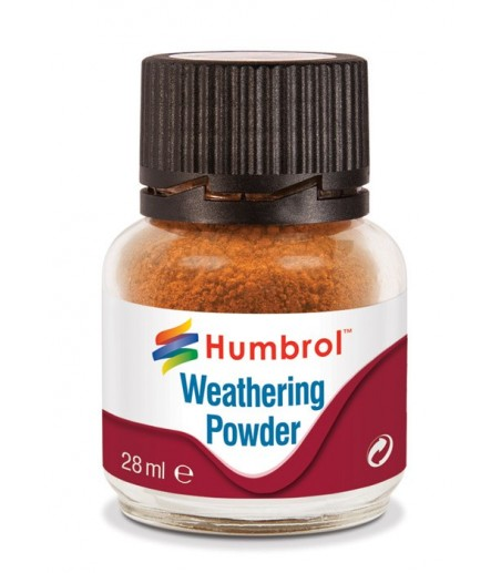 Humbrol Weathering Powder 28ml- Rust