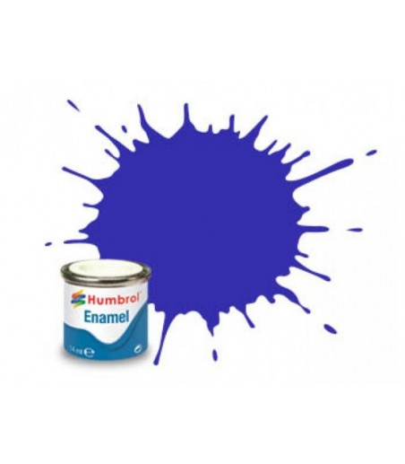 Humbrol No 14 French Blue - Gloss - Tinlet No 1 (14ml)
