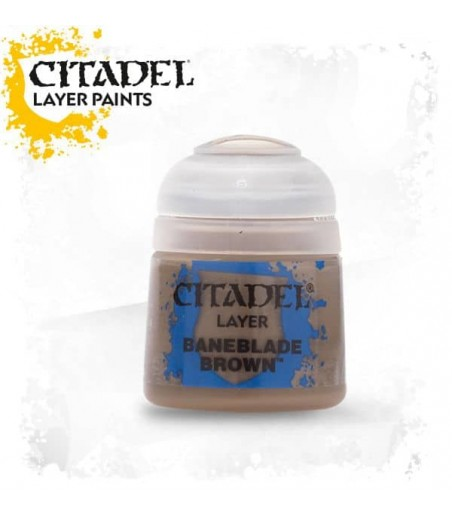 CITADEL BANEBLADE BROWN  Paint - Layer