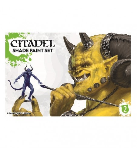 CITADEL CITADEL SHADE PAINT SET Paint - Shade