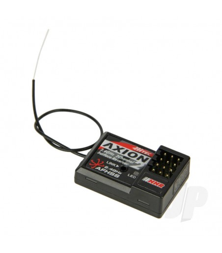 Axion 2 High Response 4ms 2.4GHz 2-Ch Receiver