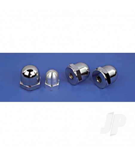 Domed Propeller Nut 1/4UNF - 3/4 Af