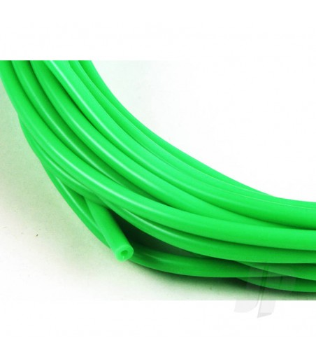 3/32 (2mm) Neon Green Fuel Tube 1m