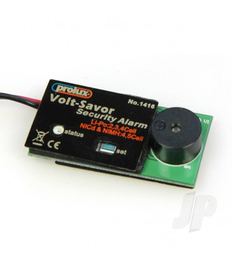 LiPo Low Voltage Alarm (Flash/Beep) 2-4 Cell