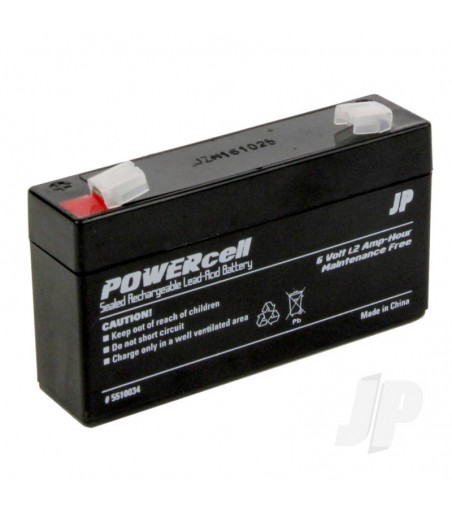 6V-1.2 Ah Powercell Gel Battery