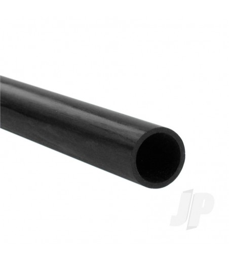 Carbon Fibre Round Tube 6.0mm x 4.0mm x 1m