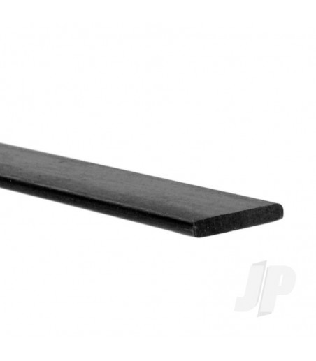 Carbon Fibre Batten/Strip 0.5mm x 10mm x 1m