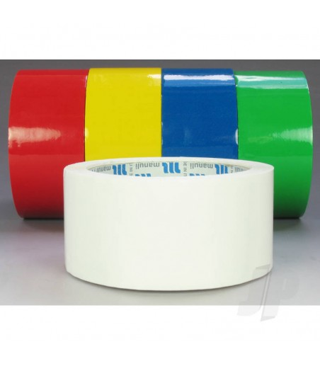 Bullet White Trim Tape (50mm)