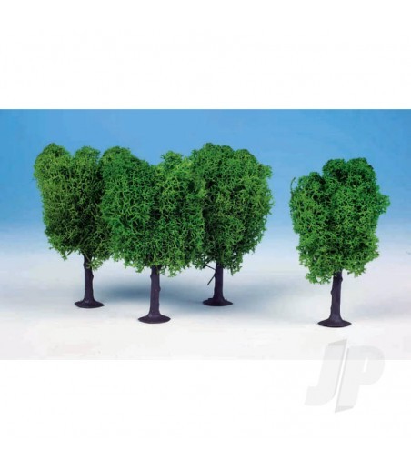 1020 3 Lichen Elm Trees 12cm (Light Green)