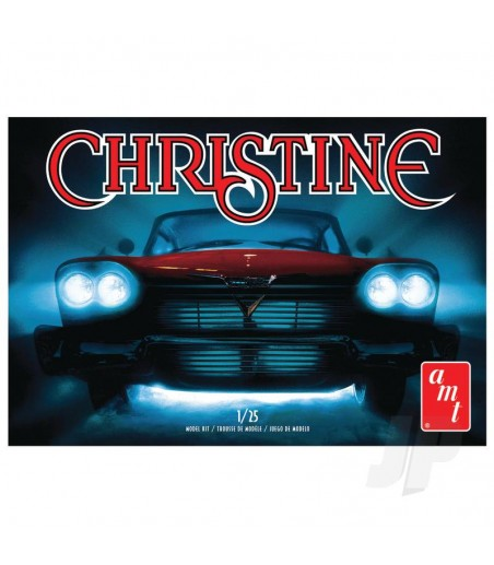 1:25 Christine -- 1958 Plymouth Belvedere-Red