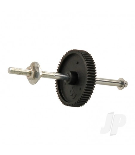 370 Gearbox Propeller Shaft with Gear (Gamma 370, V2)