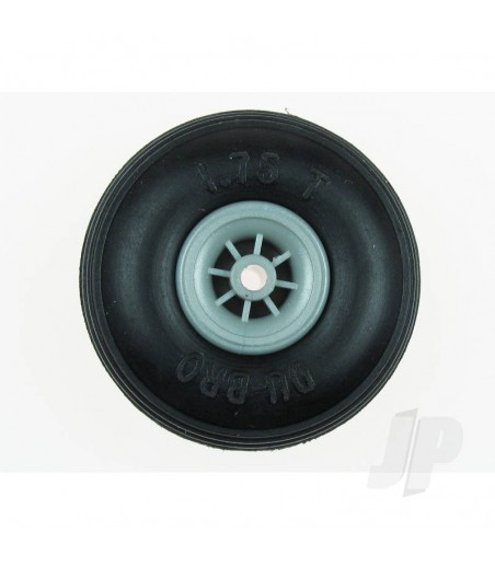 DB325T Treaded Low Bounce Wheels 3 1/4ins