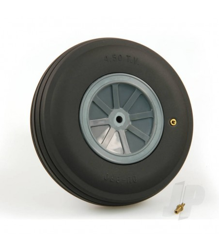 DB450Tv Large Treaded Inflatable Wheel 4 1/2