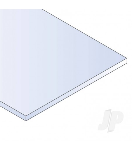 12x24in (30x60cm) Clear Sheet .015in Thick (5 Sheet per pack)