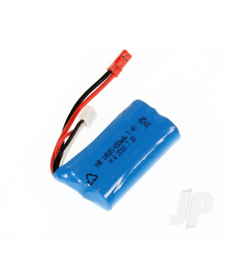 LiIon Battery Pack (7.4V 650mAh) (Hailstorm, Blaster, Gallop)