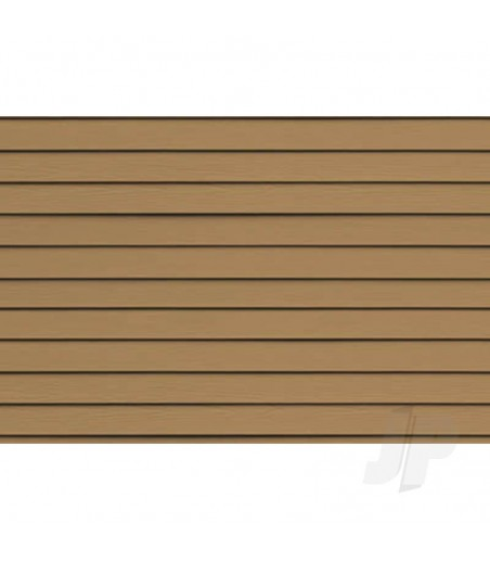 97413 Clapboard Siding, 1/100, HO-Scale, (2 per pack)