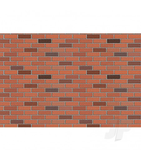 97422 Brick, HO-Scale, 1/100, (2 per pack)