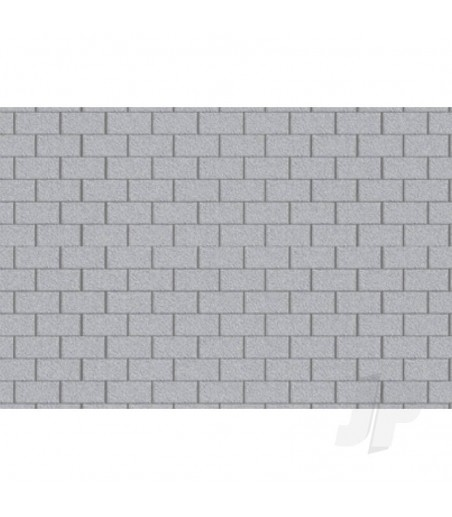 97425 Concrete Block, 1/100, HO-Scale, (2 per pack)
