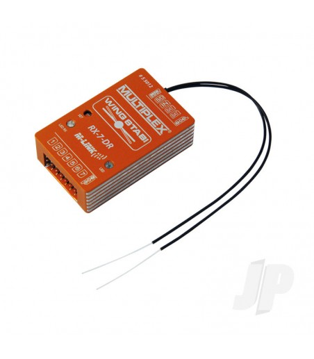 WINGSTABI 7-Channel DR M-LINK Receiver/Gyro