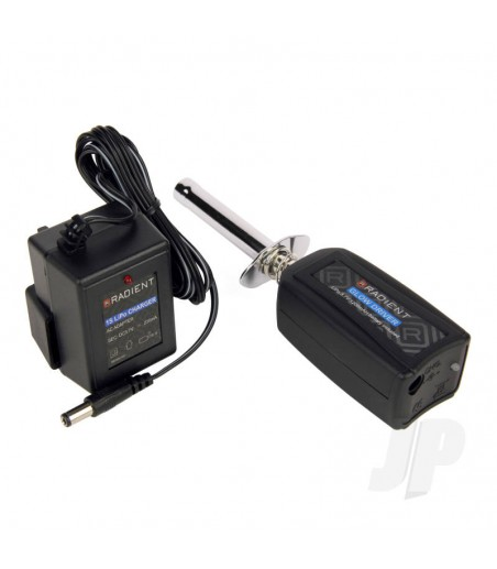 Glow Driver, Pocket w LiPo-Charger (Clamping) (UK)