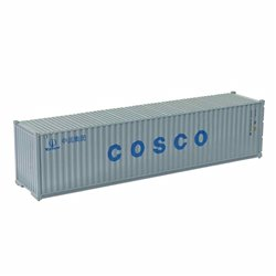 MIKRO RAIL HO Scale 40ft Shipping Container COSCO