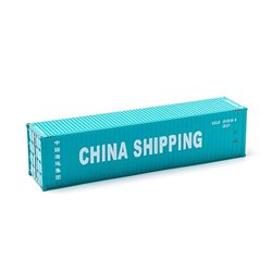 MIKRO RAIL HO Scale 40ft Shipping Container CHINA SHIPPING