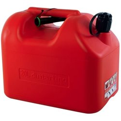 Jerry Can Fuel Tank 20 Litre 2 Spout Approved Transport Road Rail Sea & Air 20L