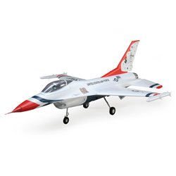 E-FLITE F-16 Thunderbirds 70mm EDF Jet BNF Basic