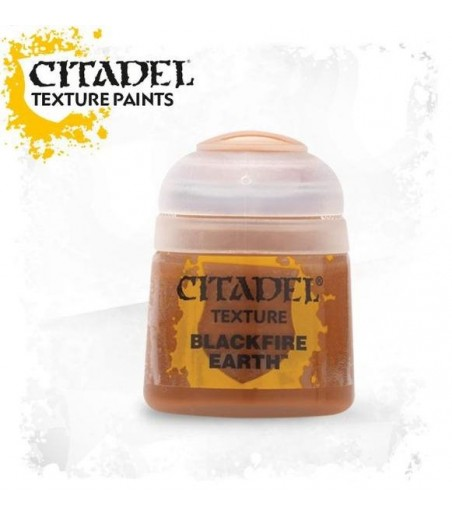 CITADEL TEXTURE: BLACKFIRE EARTH (12ML)  Paint - Texture