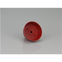 "RACTIVE Spinner Solid Skirt Red 63mm/2.5"" E-RAA1025R 2"
