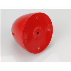 "RACTIVE 90mm 3.5""Spinner F/B Red E-RAA1029R 2"