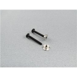 RACTIVE Wingbolt with T nut M6, 50mm (pk2) F-RAA1074