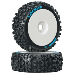 DURATRAX Lockup 1/8 Buggy Tire Mounted (2) G-DTXC3615