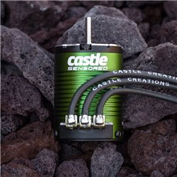 CASTLE Motor,  4-POLE Sensored Brushless, 1406-6900kV M-CC060-0058-00 2