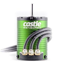 CASTLE Motor,  4-POLE Sensored Brushless, 1406-7700kV M-CC060-0059-00