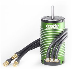 CASTLE Motor,  4-POLE Sensored Brushless, 1512-2650kV M-CC060-0061-00