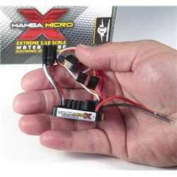 CASTLE Mamba Micro X 1:18th Car ESC W/ 4100kV MOTOR P-CC010-0147-01 2