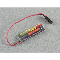 FUSION Battery Checker 4.8&6V NiCd, NiMH P-FS-BC02