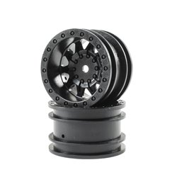 ECX 1.55 Wheel, Black (2): Barrage ECX41007