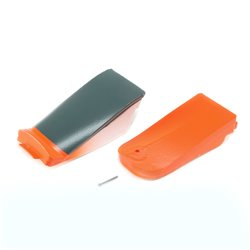 E-flite Radio and Battery Hatch: Carbon-Z Cub SS 2m