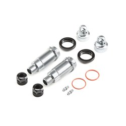 Losi  Shock Body and Collar Set, Front (2): SuperRockRey