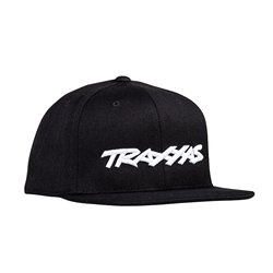 TRAXXAS Snap Hat Flat Bill Black Z-TRX1183-BLK