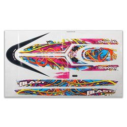 Blast decal set (swirl pattern) (waterproof)