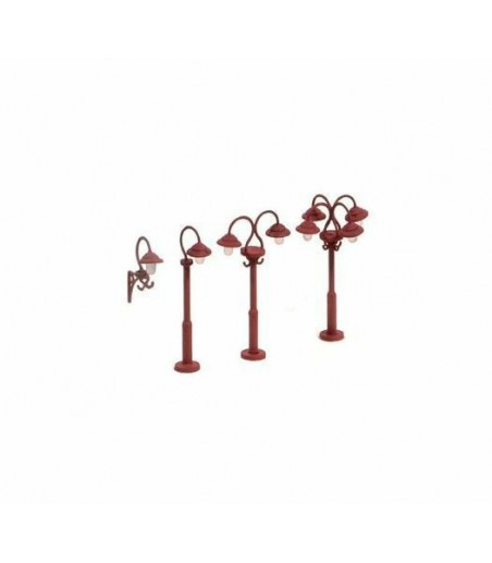 Ratio 453 Swan Necked lamps (9 per pack)