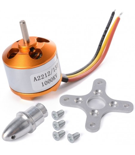 A2212/13T 1000KV Brushless Outrunner Motor For Airplane Aircraft Quadcopter