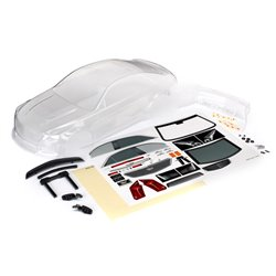 Body, Cadillac CTS-V (clear)/ decal (incl  hardware)