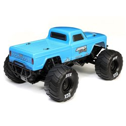 1/10 AMP CRUSH MT 2WD: Blue RTR INTL 2