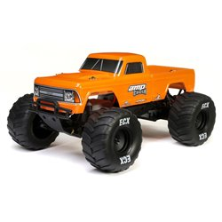 1/10 AMP CRUSH MT 2WD: Orange RTR INTL