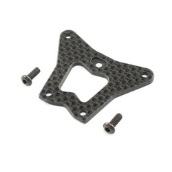 Carbon Front Steering/Gearbox Brace: 22X-4