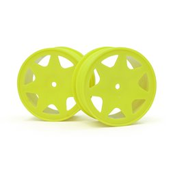 Hpi Racing  ULTRA 7 WHEELS YELLOW 30MM (2PCS) 100620